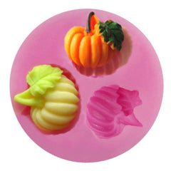 """FALL PUMPKINS"" Silicone Mold - Nice Detail!"