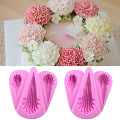 NEW in Stock - Lacy Flowers Silicone Mold