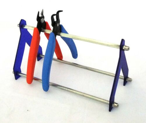Modern Look Plier Rack For Crafters/Artists - Strong and Useful!
