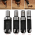 Carbon Steel Wood Plug Cutter Cutting Woodworking Drill Bits  (4) Pc. set