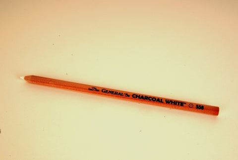 "General Charcoal Pencil ~ ""White Charcoal"" - Makes Markings Easier to See!"