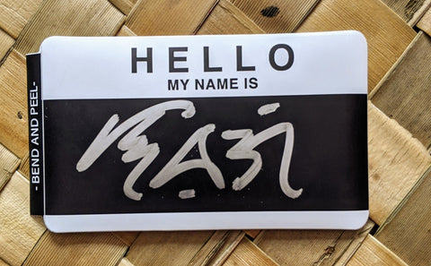 Hello my name is sticker - Custom with your name