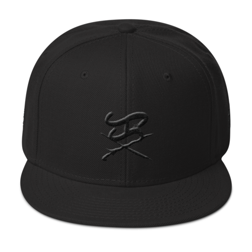 Ka logo - K3 blackout snapback *limited*