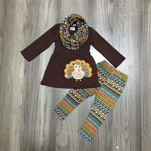 Terrific Turkey Scarf Outfit