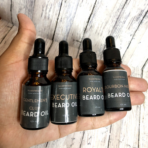 Sample Set of 3 Premium Beard Oils