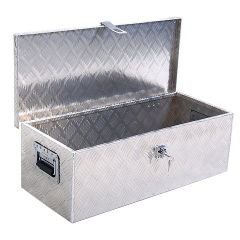 "30"" Aluminum Tool Box w/ Lock Listed SUVSupply.com Default Title"