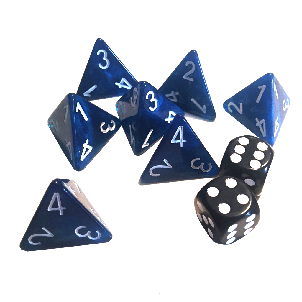 Moonstone Basic Dice Set