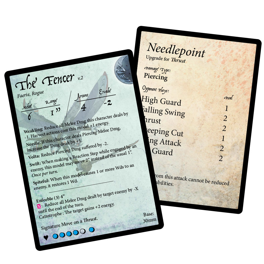 Stat Card: The Fencer v2