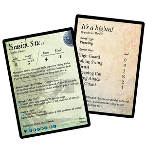 Stat Card Errata Pack of 12