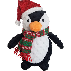"10"" Christmas Dotty Penguin"
