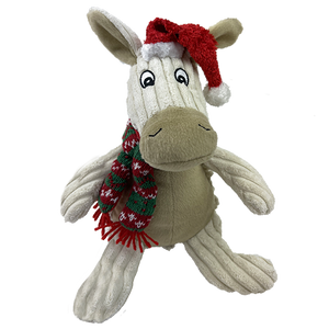 "10"" Christmas Natural Donkey"