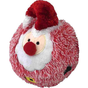 "5"" Christmas EZ Squeaky Red Santa Ball"