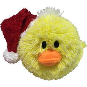 "4"" Christmas EZ Squeaky Chick Ball"