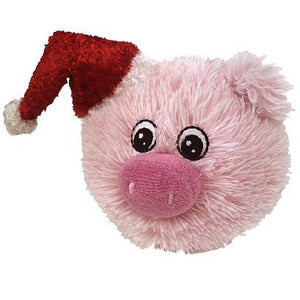 "4"" EZ Christmas Squeaky Pig"