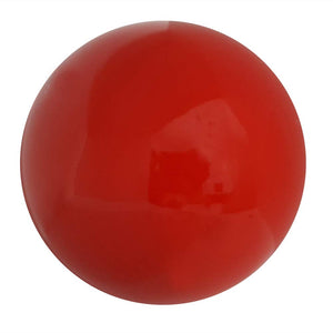 Eclante Decorative Sphere Sculpture | Red