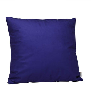 Eclante Royal Blue Velvet Throw Pillow | Soft Decorative Pillow
