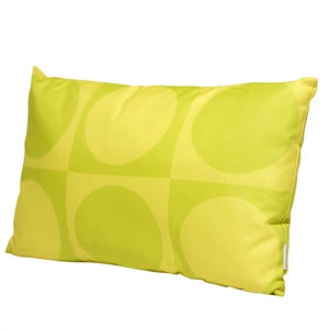 Eclante Gusto Indoor Outdoor Throw Pillow | Lime & Lemon Green