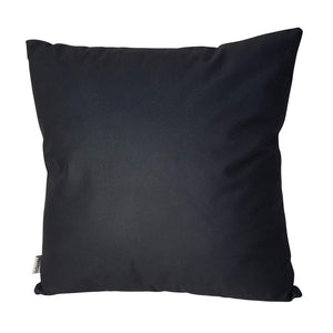 Eclante Black Velvet Throw Pillow | Soft Decorative Pillow