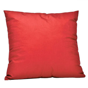 Eclante Burgundy Velvet Throw Pillow | Soft Decorative Pillow