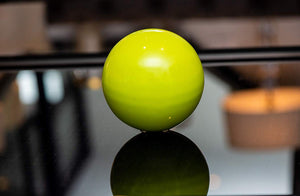 Eclante Decorative Sphere Sculpture | Lemon Green