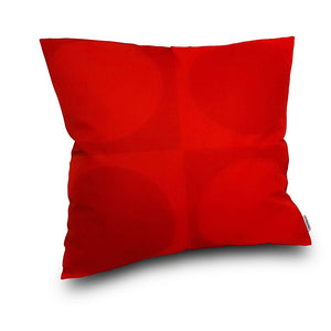 Eclante Gusto Indoor Outdoor Throw Pillow | Red
