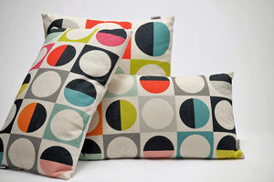 Eclante Jazzy Throw Pillow | Multicolor Design