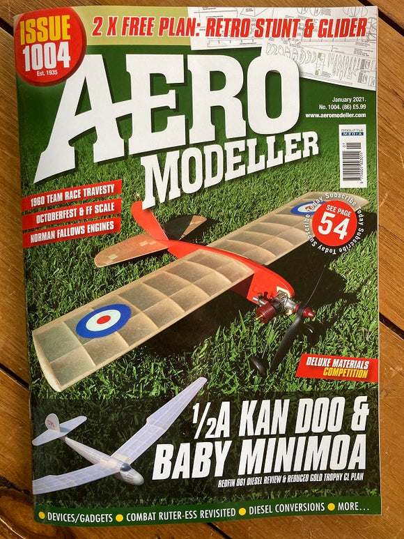 AeroModeller Magazine January 2021
