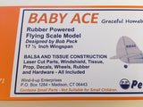 Walnut Scale Baby Ace Model Kit