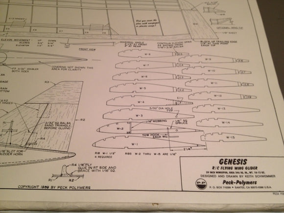Genesis Flying Wing Plan