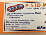 Peanut Scale P51-D Mustang Model Kit