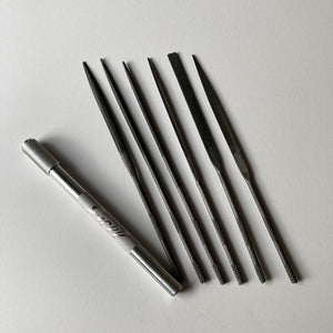 Excel Assorted Needle Files with Handle