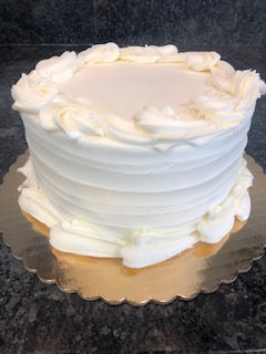 "7"" Yellow Buttercream Layer Cake"