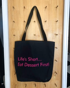 Chocolate Carousel Tote Bag