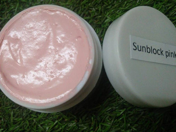 ORGANIC SUN SCREEN SPF50 PINK 500ML $28