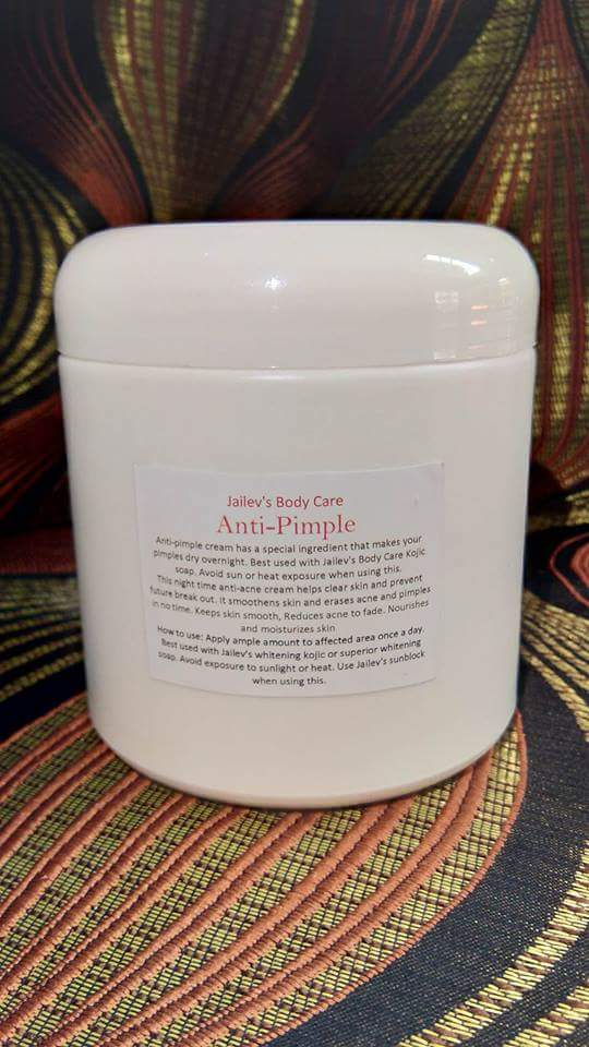 ANTI-PIMPLE ANTI-ACNE CREAM 500ml $40 Acne Fix Cream