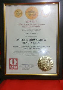 Jailev's Body Care Products Pricelist