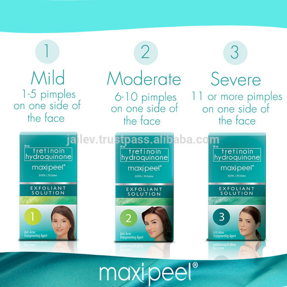 10 sets of  Maxipeel Solution 15ml #1, #2, #3