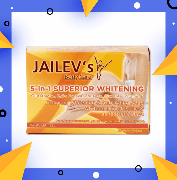 5-in-1 Superior Whitening Soap 120g