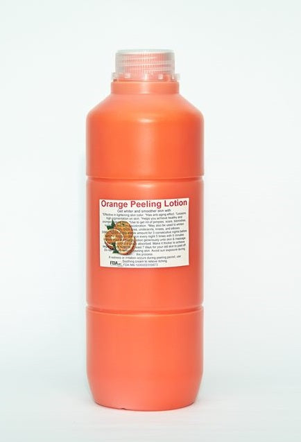 1 Liter Orange Peeling Lotion