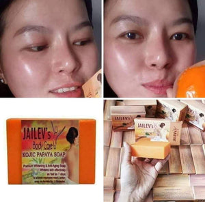 Peeling Kojic Papaya Soap 120g