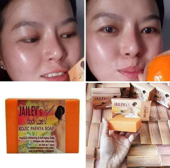 MicroPeeling Whitening Anti-Pimple Kojic Papaya Soap 120g