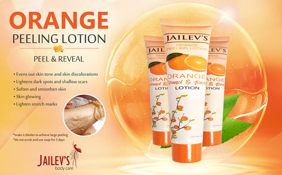 10pcs Best Selling Orange Peeling Lotion 100ml