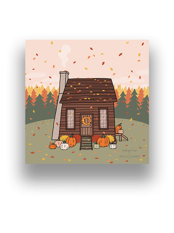 Ashleigh Green - Fall Cabin