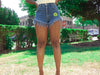 Zena Supa High Waist Denim Shorts