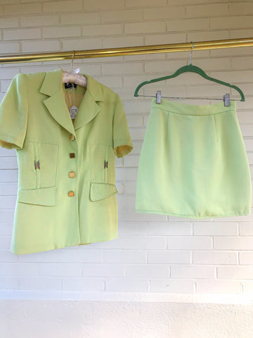 Neon Lime Suit