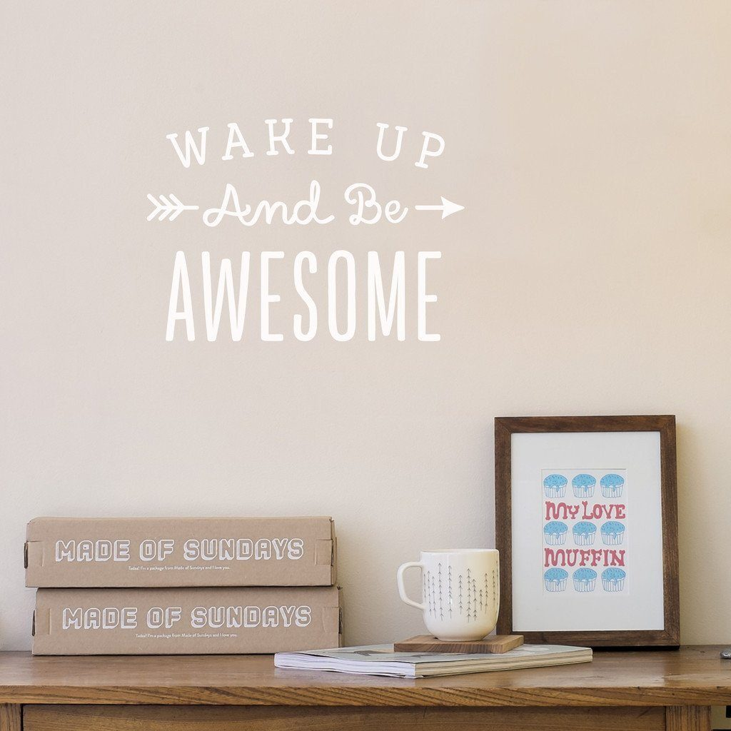 9 Inspirational Wall Decals You Need Right Now