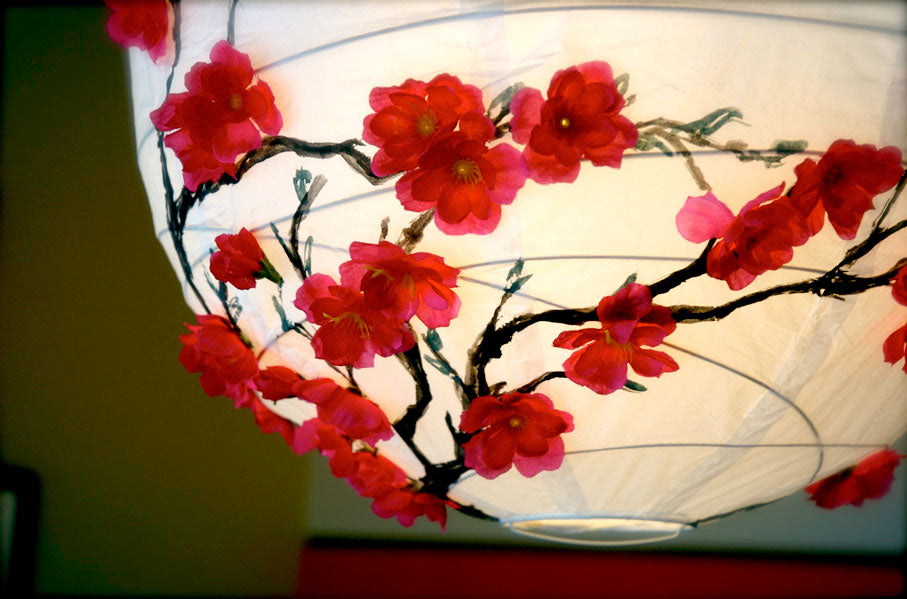1. Cherry Blossom Lantern & 8 DIY Chinese New Year Decor Ideas u2013 Naiise