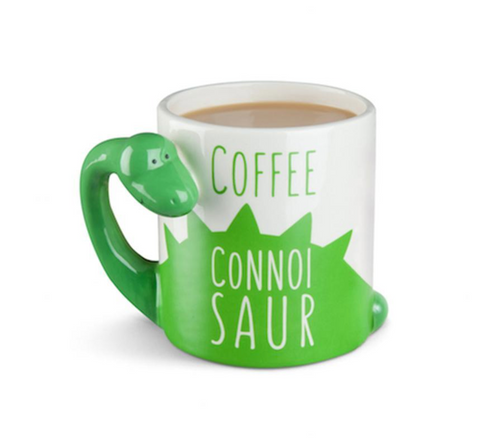 DINOSAUR CONNOISAUR COFFEE MUG