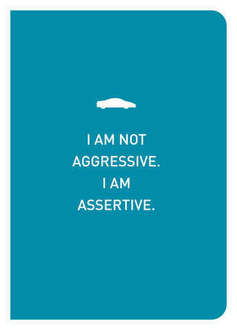 Epigram Books Singapore Independent Book Publishing - I Am Not Aggressive Notebook