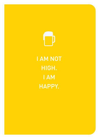 Epigram Books Singapore Independent Book Publishing - I Am Not High Notebook